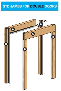 You Will Be Asked To Specify Which You Require When Ordering Your Single Pocket  Door Frame.