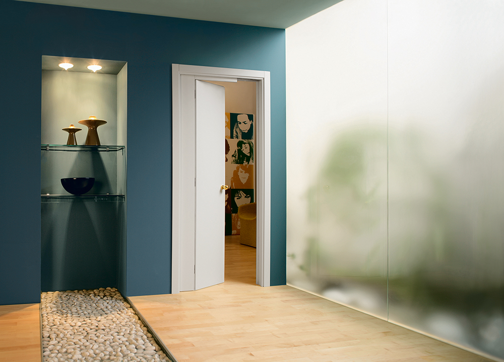Novanta Pocket door for bathroom